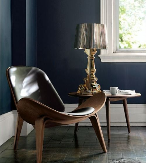 CH07 Shell Chair And Ch 08 Table By Hans J Wegner From Carl Hansen