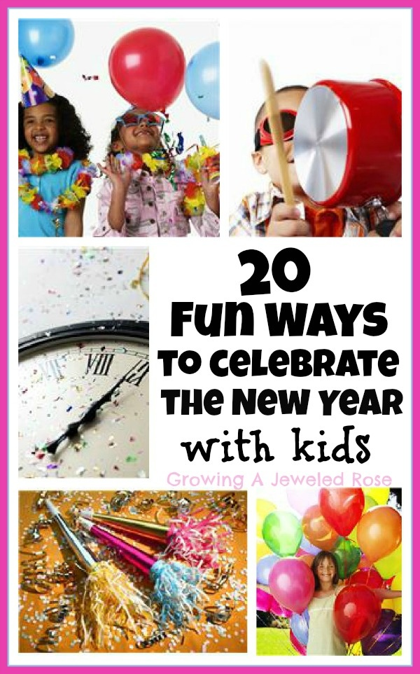 Lots of fun activities to celebrate the New Year with kids!