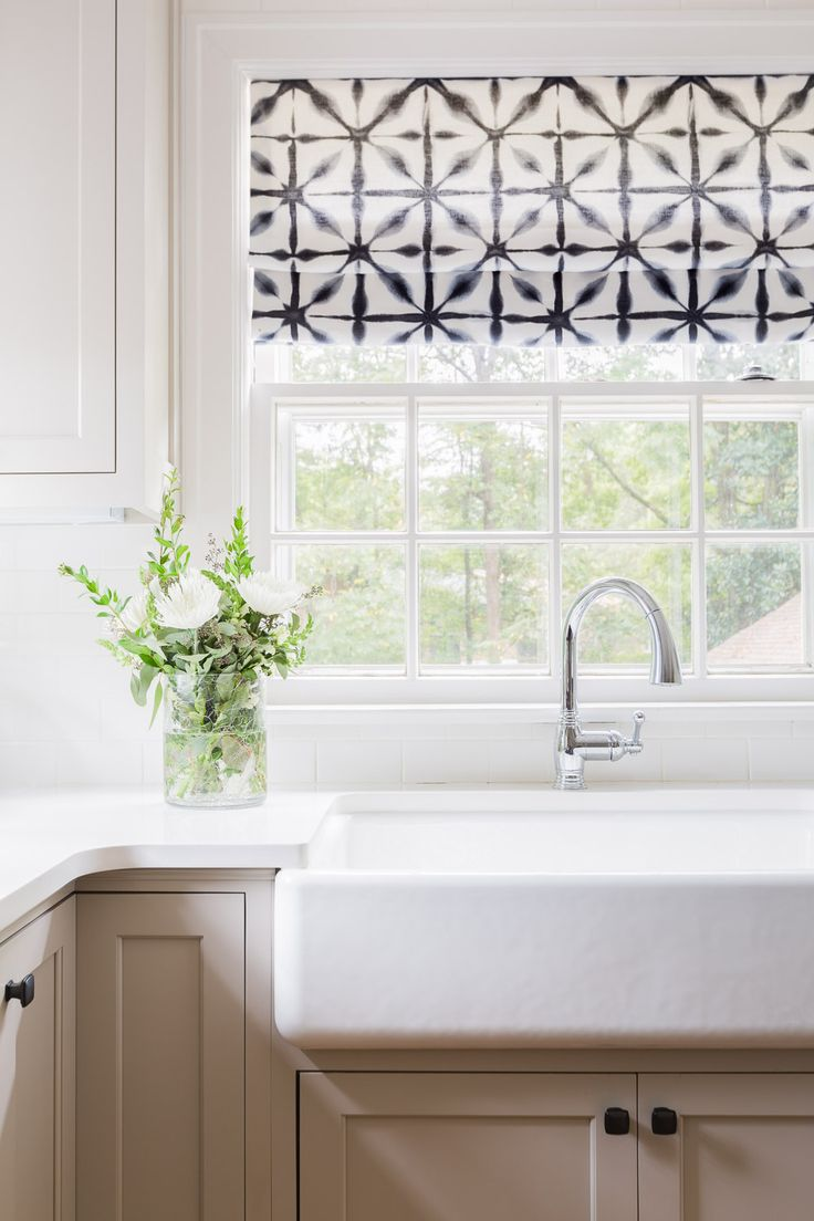 17 Best Ideas About Farmhouse Roman Shades On Pinterest