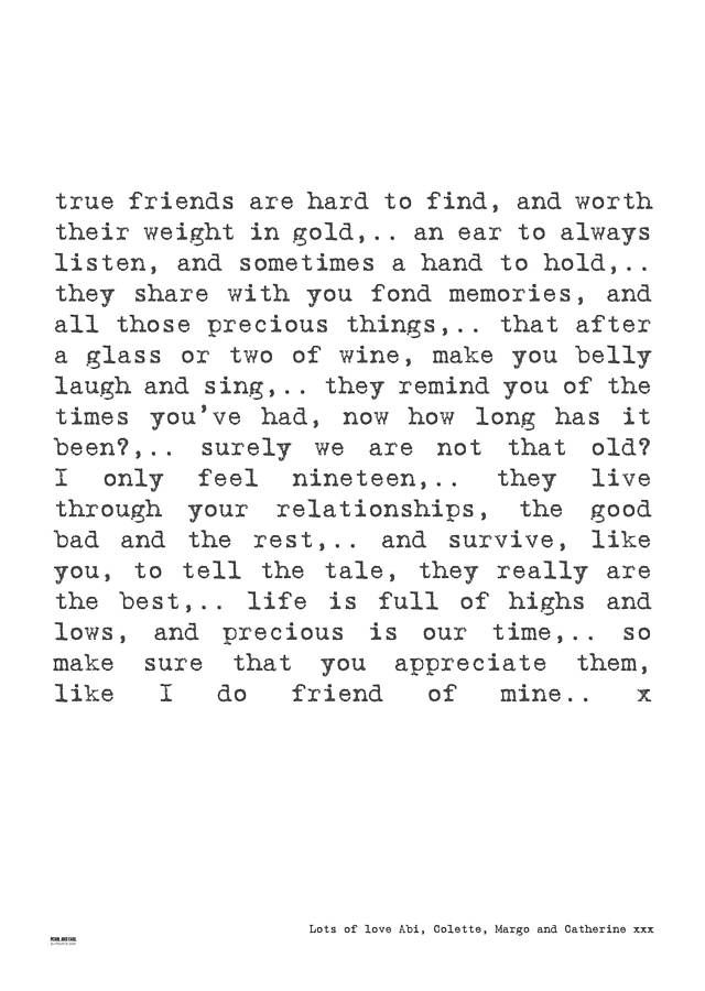 Friend Letters Tumblr