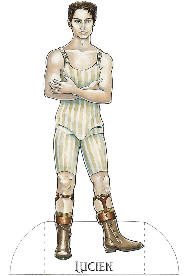 Steampunk Paper Doll: Dover Publications weekly samples