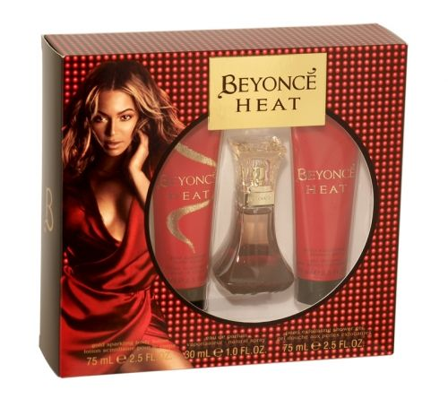 Beyonce heat 3 piece gift set