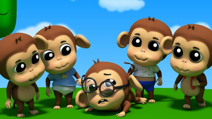 "five little monkeys jumping on the bed | nursery rhymes farmees | 3d rhymes | kids songs Hey kids aren't you feeling bore so come let's play with those five little monkeys and have fun. But be careful because ""The Five Little Monkeys"" like to take things the easy way. But what the doctor has to say? #kindergarten #kidssongs #preschool #toddlers #parenting #kidstv #nurseryrhymes #fivelittle #fivelittlemonkey #teninthebed https://youtu.be/xDbvz8k7oN8"