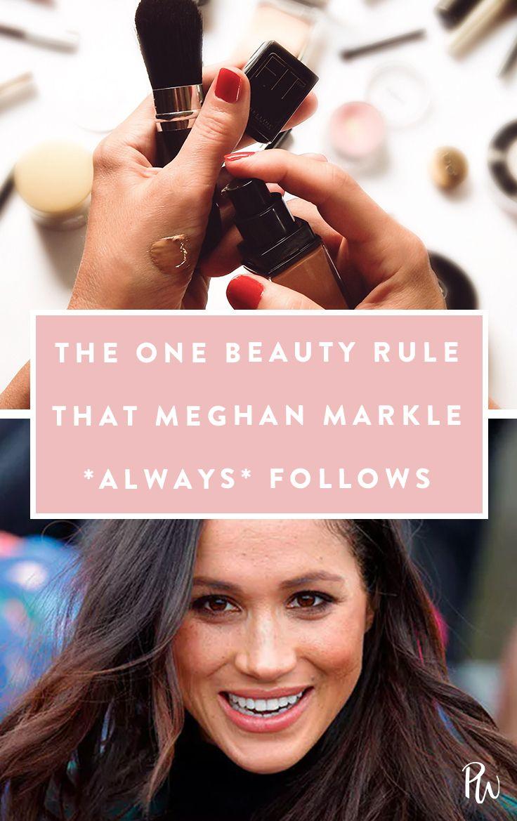 The One Beauty Rule That Meghan Markle *Always* Follows