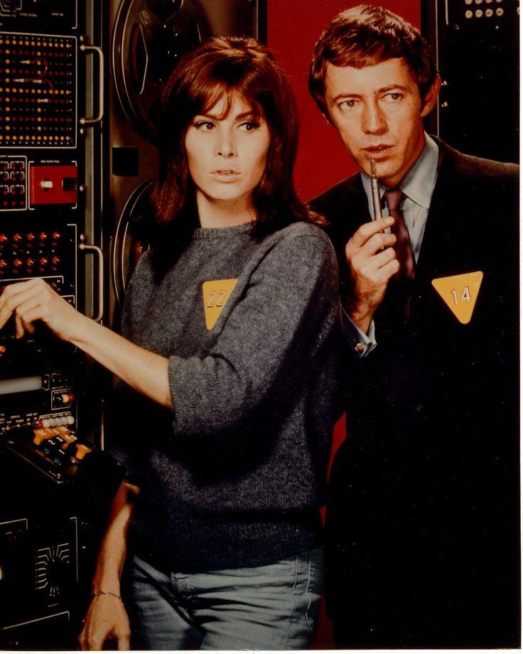 Sixties | Stefanie Powers and Noel Harrison in The Girl from U.N.C.L.E.
