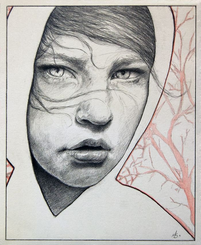 Untitled Sketch by Michael Shapcott, 2009, 7 x 9, Graphite on Paper