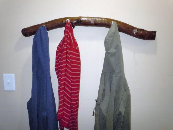 Tree Branch Coat Rack Coat Hook Towel Holder by NestsAndBurrows, $60.00