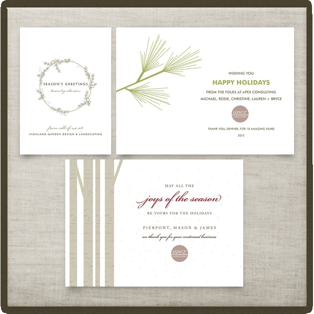 29 best business holiday cards images on pinterest business shop hundreds of fresh modern holiday cards wedding invitations and birth announcements from indie designers reheart Images