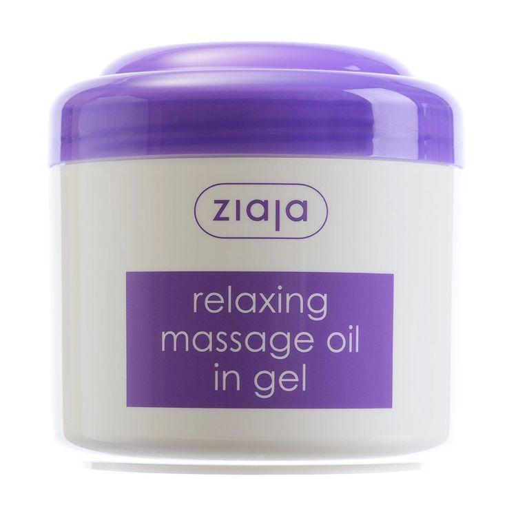 Relaxing Massage Oil in Gel - Ziaja® USA Webstore