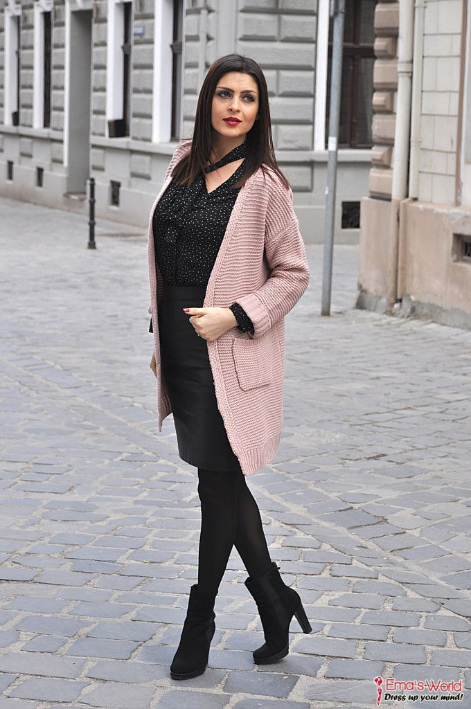 Rose Quartz Cardigan | http://www.emasworld.ro/rose-quartz-cardigan/