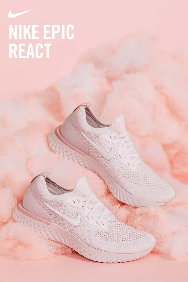4d7487f622 Experience the swift lift in the Nike React. Now available in new colorways.