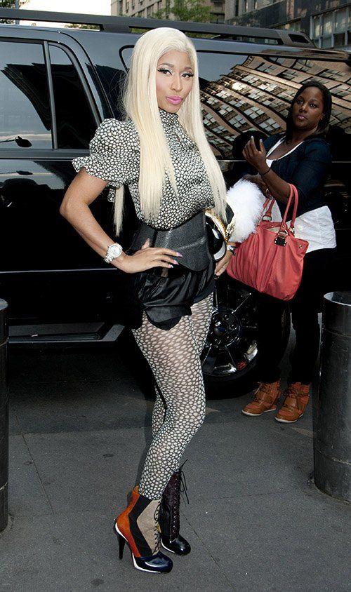Hot! or Hmm… Nicki Minaj's American Idol Season 12 New York City Auditions Fendi Fall 2012 Look
