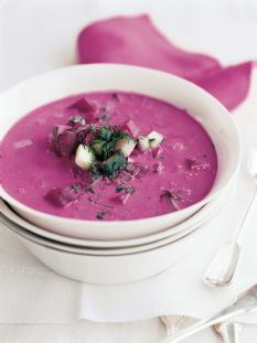 I'm making this for my birthday lunch!  :) Barefoot Contessa - Recipes - Summer Borscht