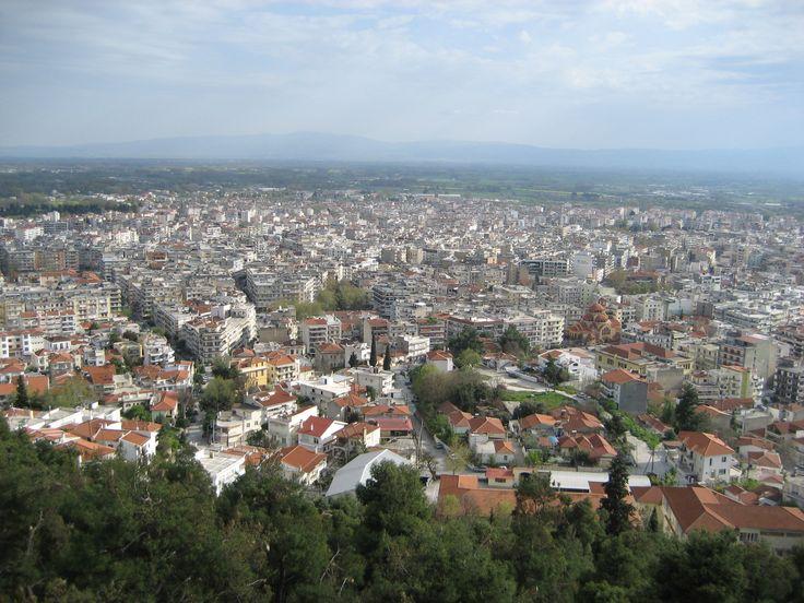 View from Acropolis (Koulas), Serres