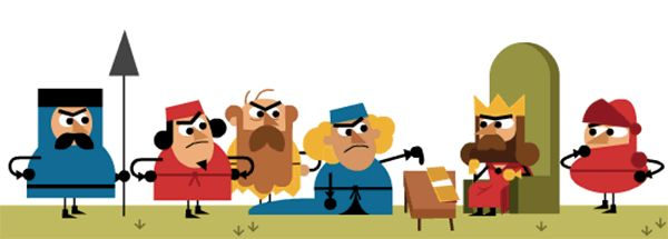 Magna Carta scribes identified ahead of 800th anniversary. June 15, 2015. #MagnaCarta   #Freedom   #King   #England   #GoogleDoodle