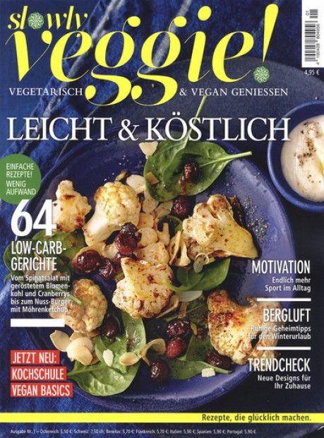Deine lieblings Zeitschrift zum Thema Veggie mit tollen vegetarischen Rezepten zum Nachkochen im Abo mit Praemie bei uns erhaeltlich.  Spare jetzt Geld bei unseren Abo-Modellen und lass Dich von unseren Praemien überzeugen.  Besuche uns auf unseren Onlineshop!