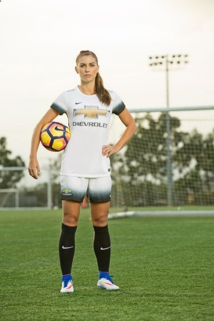 Alex Morgan, ambassador for Chevy Youth Soccer (02.22.2017)