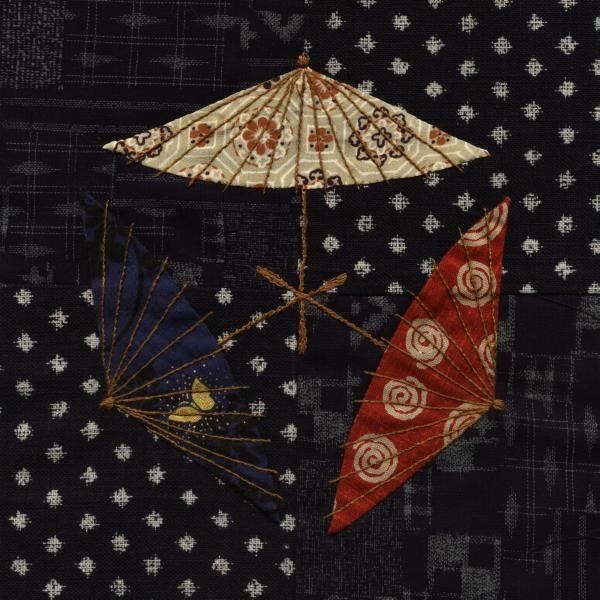Julia's Place: Japanese Quilt...Parasol Blocks finished