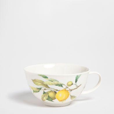 Komplet śniadaniowy cytryny - Serwisy do kawy i herbaty - Jadalnia | Zara Home Polska