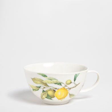 Komplet śniadaniowy cytryny - Serwisy do kawy i herbaty - Jadalnia   Zara Home Polska