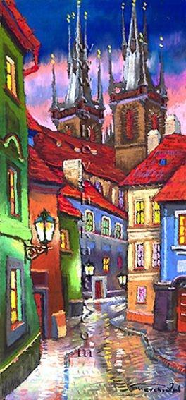 Praha pastel 10