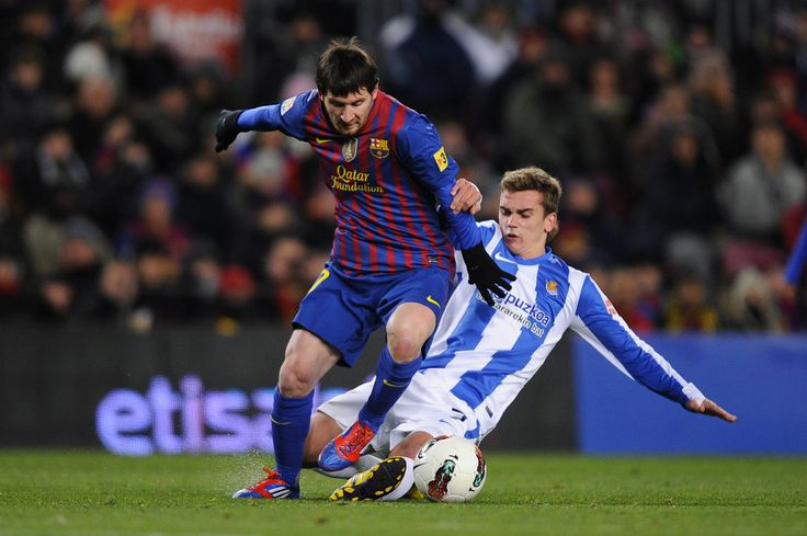 Lionel Messi Photos: FC Barcelona v Real Sociedad de Futbol  - Liga BBVA