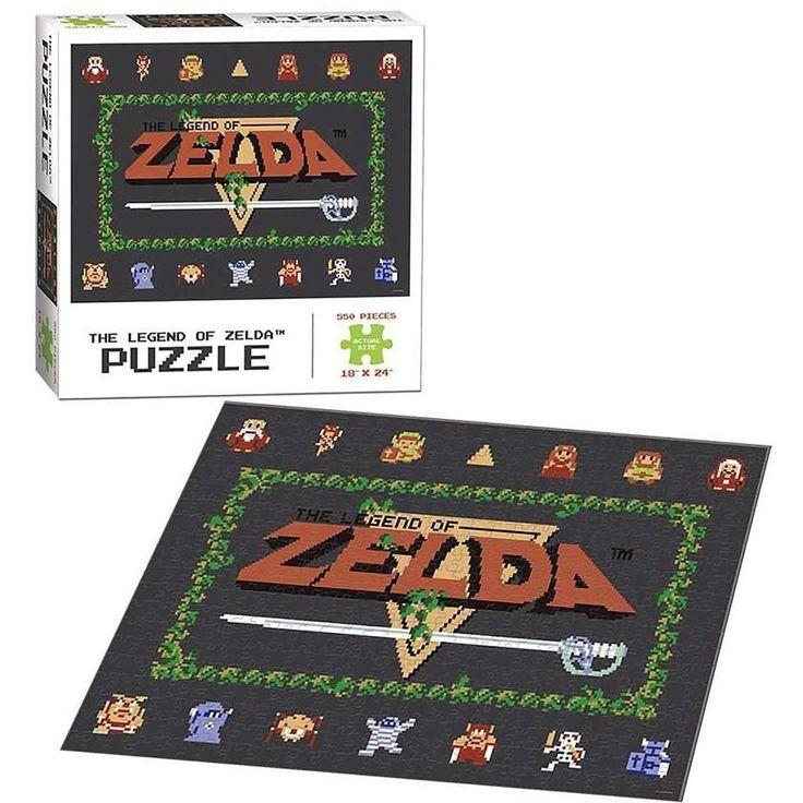 Legend of Zelda 550Piece 8Bit Puzzle Zelda classic