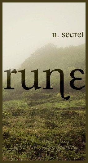Baby Boy Name: Rune. Meaning: Secret. Origin: Ancient Norse; German. https://www.pinterest.com/vintagedaydream/baby-names/