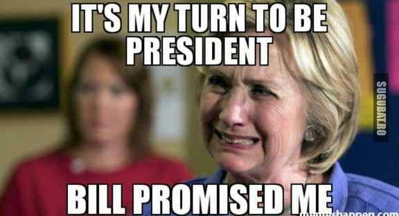 Hillary Clinton in momentul asta