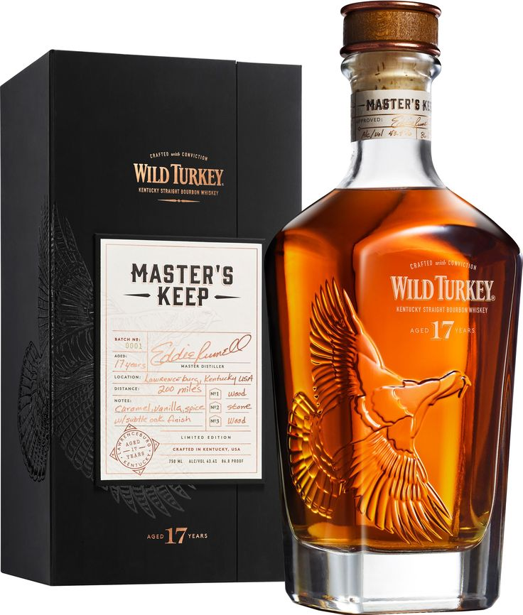 This newly released seventeen year old bourbon is the oldest ever released by Wild Turkey.