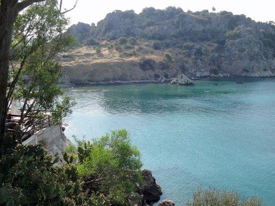 Ancient Assini Bay, near Nafplio, Greece