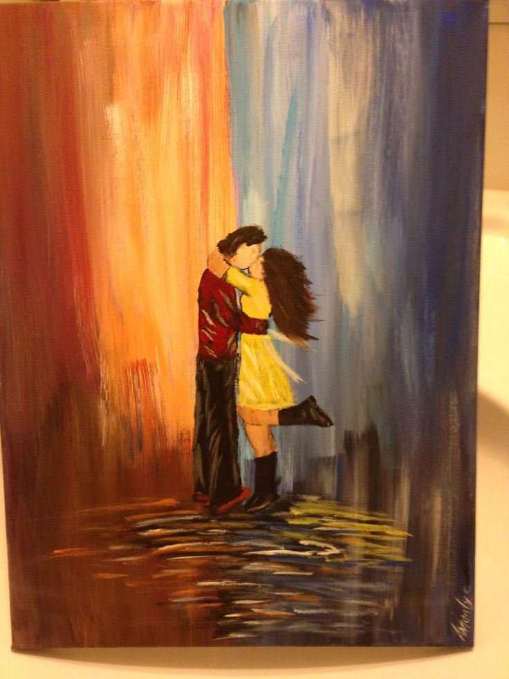 Couples in The Zone Painting.  inspired by #theartsherpa