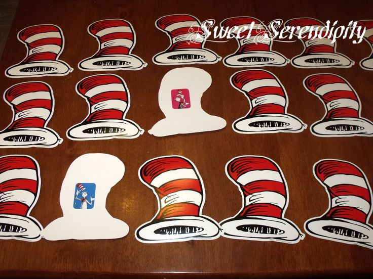 Cat in the Hat Matching Game