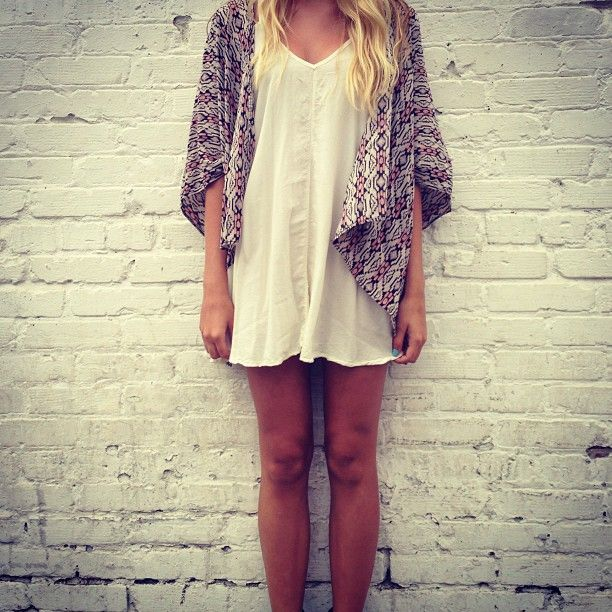 : Cardigans, Melvil Fashion, Summer Style, Fall Outfits, Street Style Fashion, Closet, Brandy Melvil Dresses, White Dresses, Lace Dresses