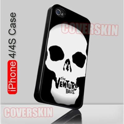 Venture Brothers Skull Logo iPhone 4 or 4S Case Cover