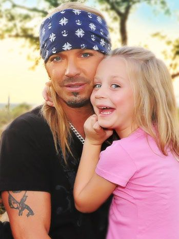 "Bret Michaels from ""Poison"". There's nothing sexier than a man who loves his daughter!"