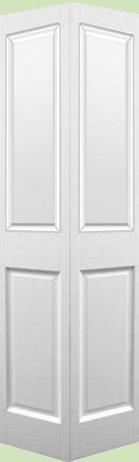 Victorian 2 Panel White Bi-fold Door (pre-finished): Internal And External Wooden Front Doors – Fine-Doors.co.uk