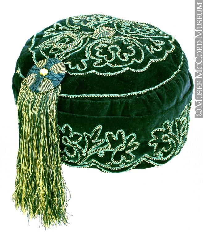 Smoking cap 1860-1890