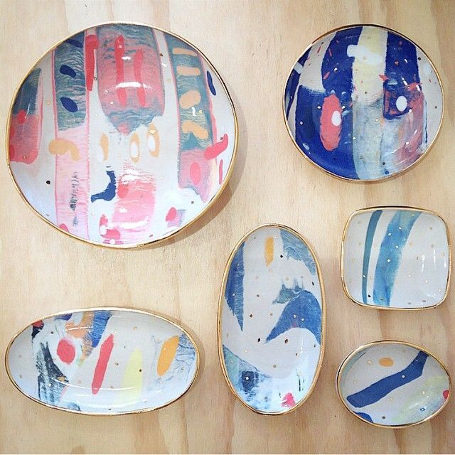 Plates - Ruby Pilven