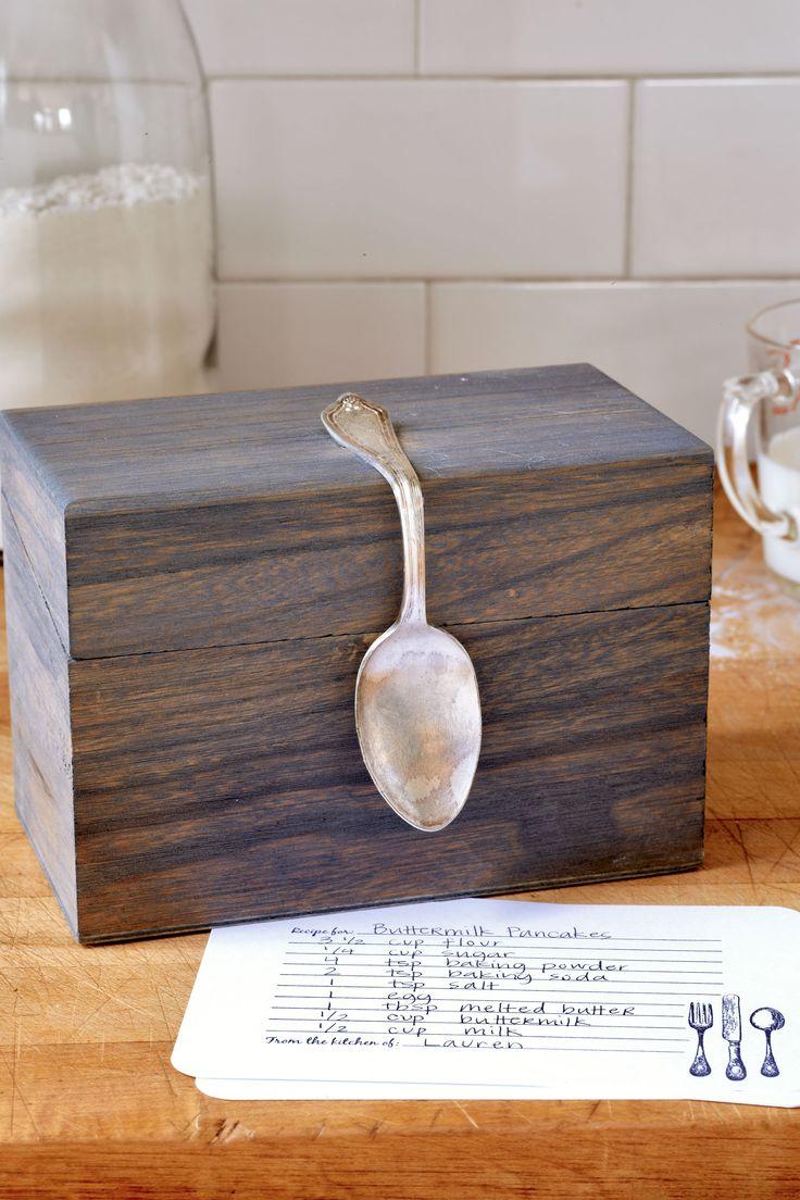 Bent Spoon Recipe Box