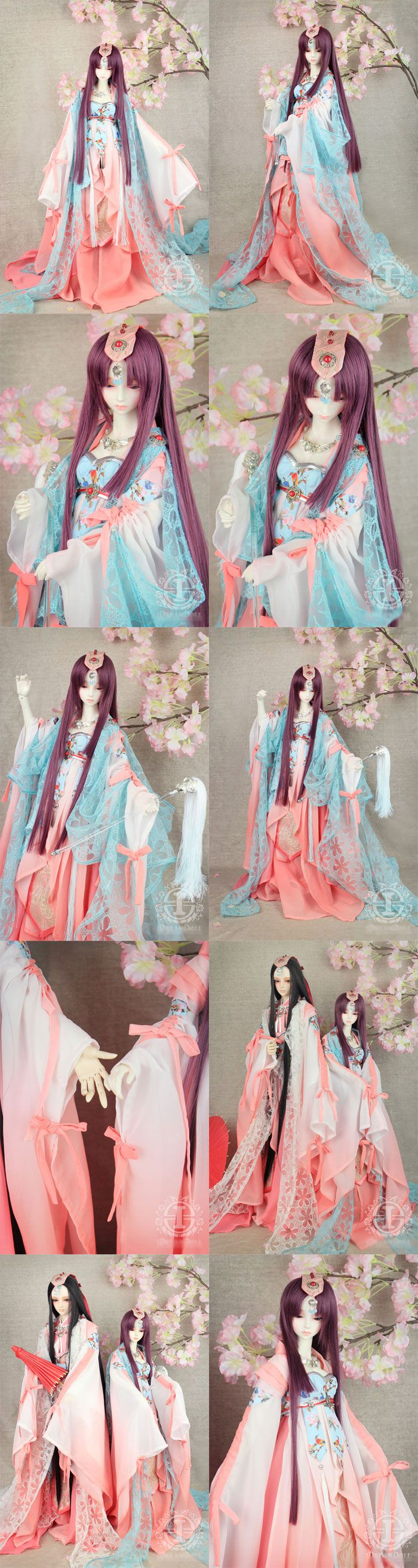 BJD Clothes Girl Ancient Suit for MSD/SD/70cm Ball-jointed Doll_MSD_MSD_CLOTHING_Ball Jointed Dolls (BJD) company-Legenddoll