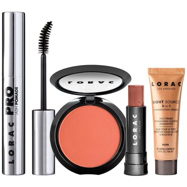 LORAC Live Color: The Festival Essentials 4-Piece Kit ($15) ❤ liked on Polyvore featuring beauty products, makeup, lorac, lorac cosmetics, lorac makeup, travel size cosmetics and kit makeup