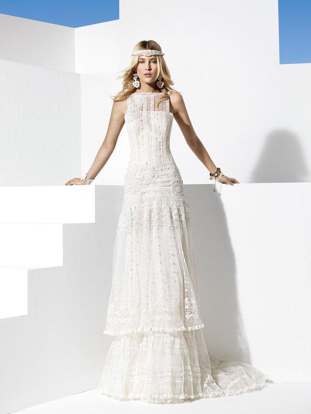 YolanCris | Vestidos de novia ibicencos y vestidos de novia hippies                                                                                                                                                                                 Más