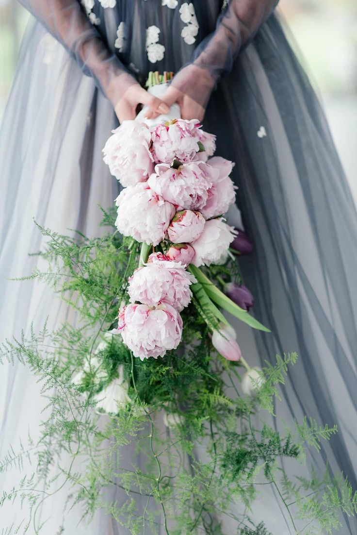 How To Make Bridal Bouquet Cascade : Best images about floral romance cascading wedding