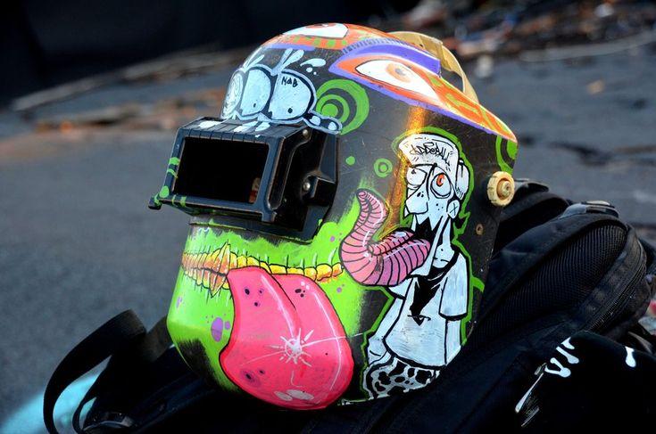 Welding Helmet by ~OddMason on deviantART