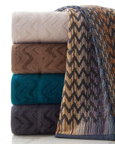 -6UZJ Missoni Home  Rex Bath Towel Stephen Bath Towel Rex Bath Sheet