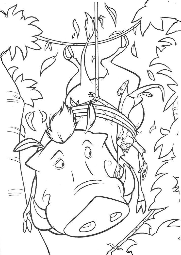 Der König der Löwen 8 Ausmalbilder für Kinder Malvorlagen