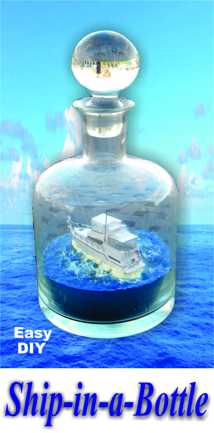 how to make a boat with bottle