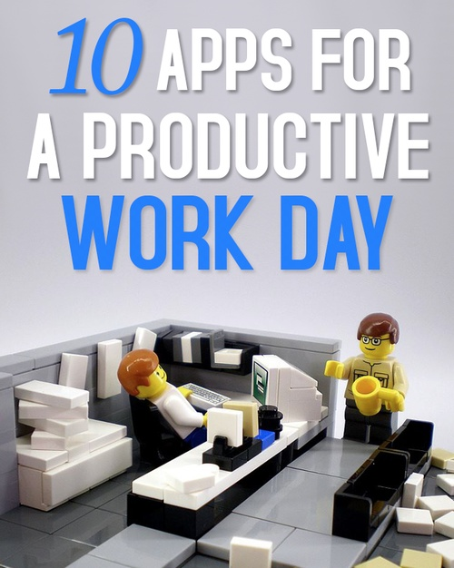 Be more productive and save time at work with these great #apps. #Business #Success