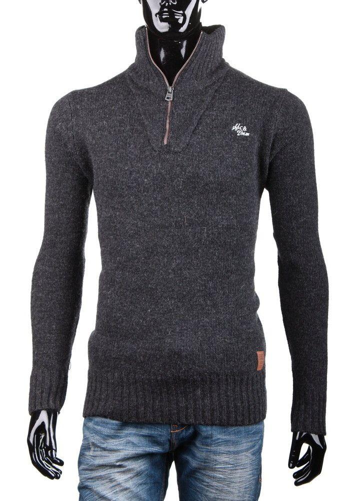 Sweter 611-96 SCOTFREE | Odzież męska \ Swetry | Ipanema klapki sandały japonki plaża Rider Grendha Gisele Bundchen obuwie męskie damskie dzieciece